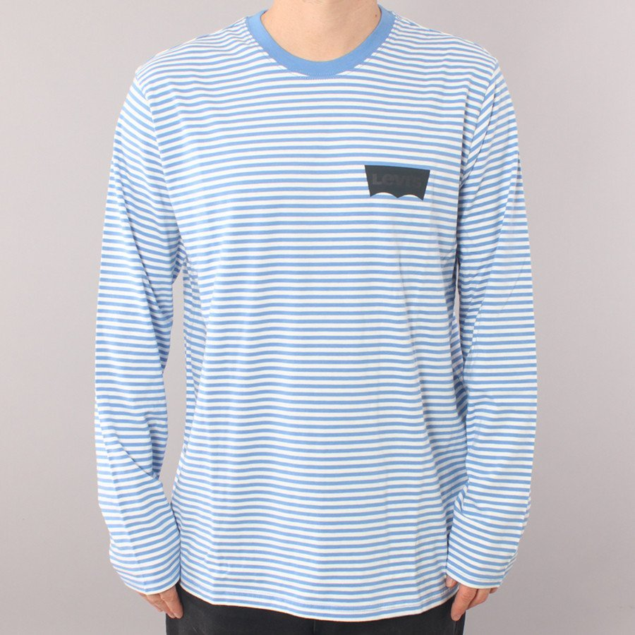 Levi's Skateboarding Ultra Marine LS T-shirt - White/blue