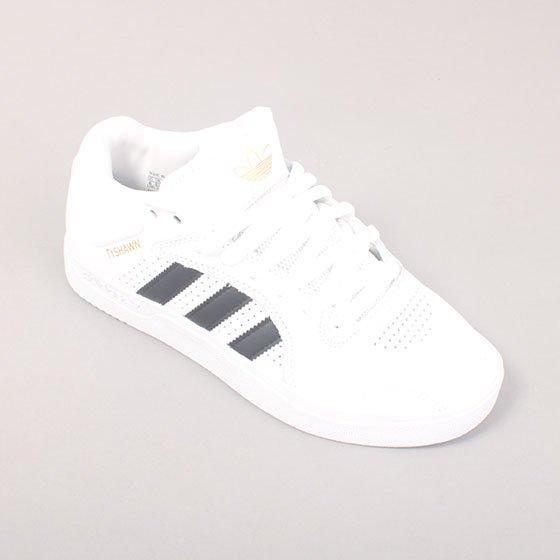 Adidas Skateboarding TYSHAWN - White/Black/White
