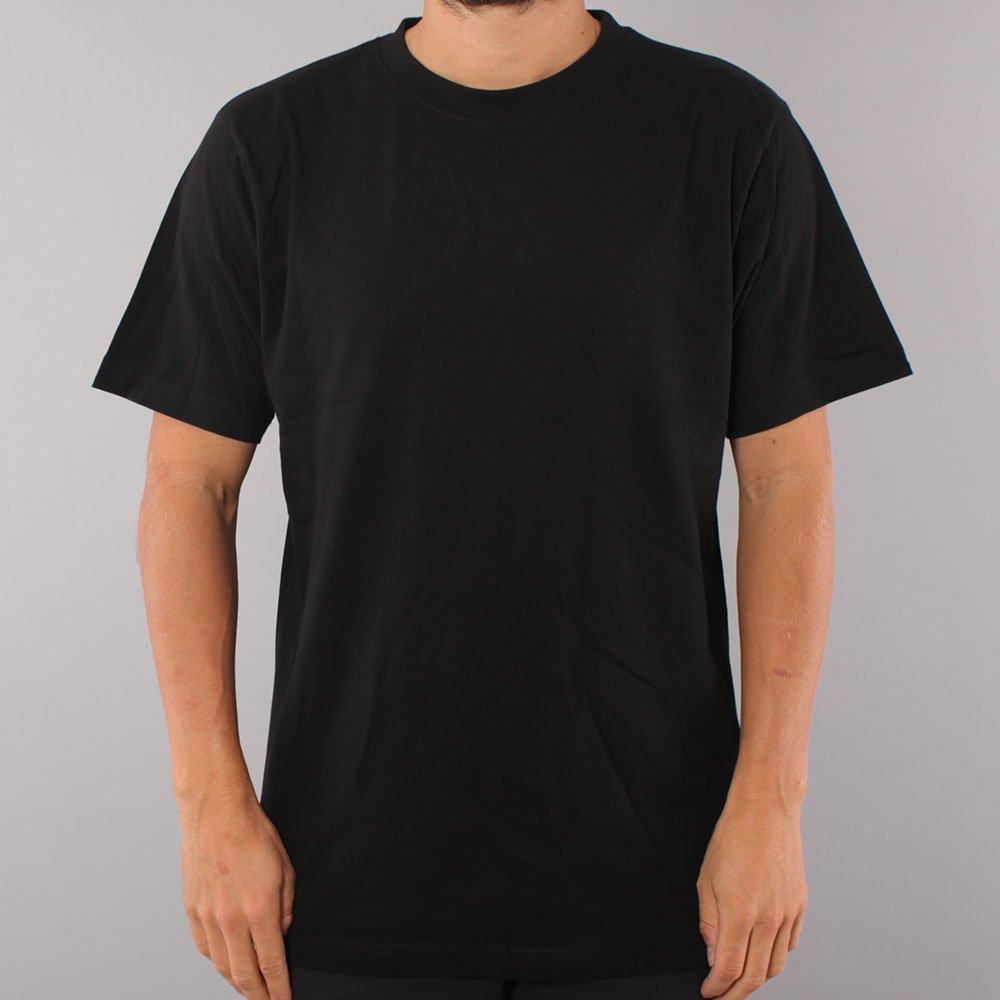 Blank No Logo T-shirt - Black-L