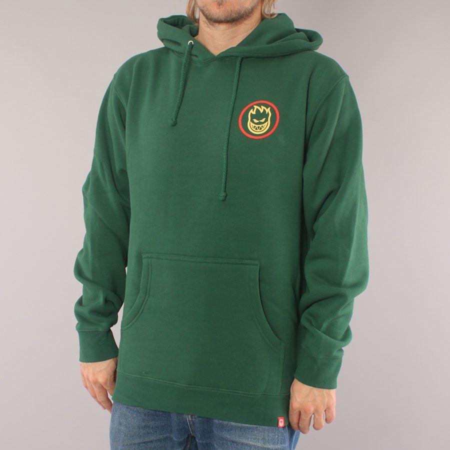 Spitfire Classic Swirl Hood - Dark Green