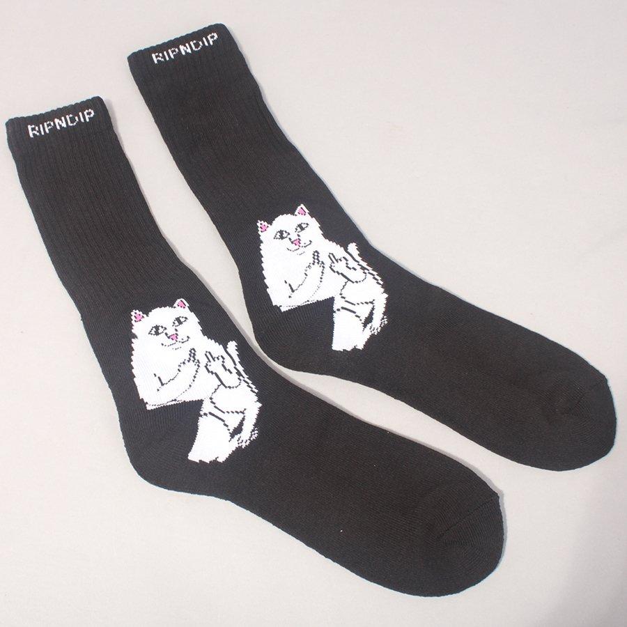 Rip N Dip Lord Nermal Socks - Black