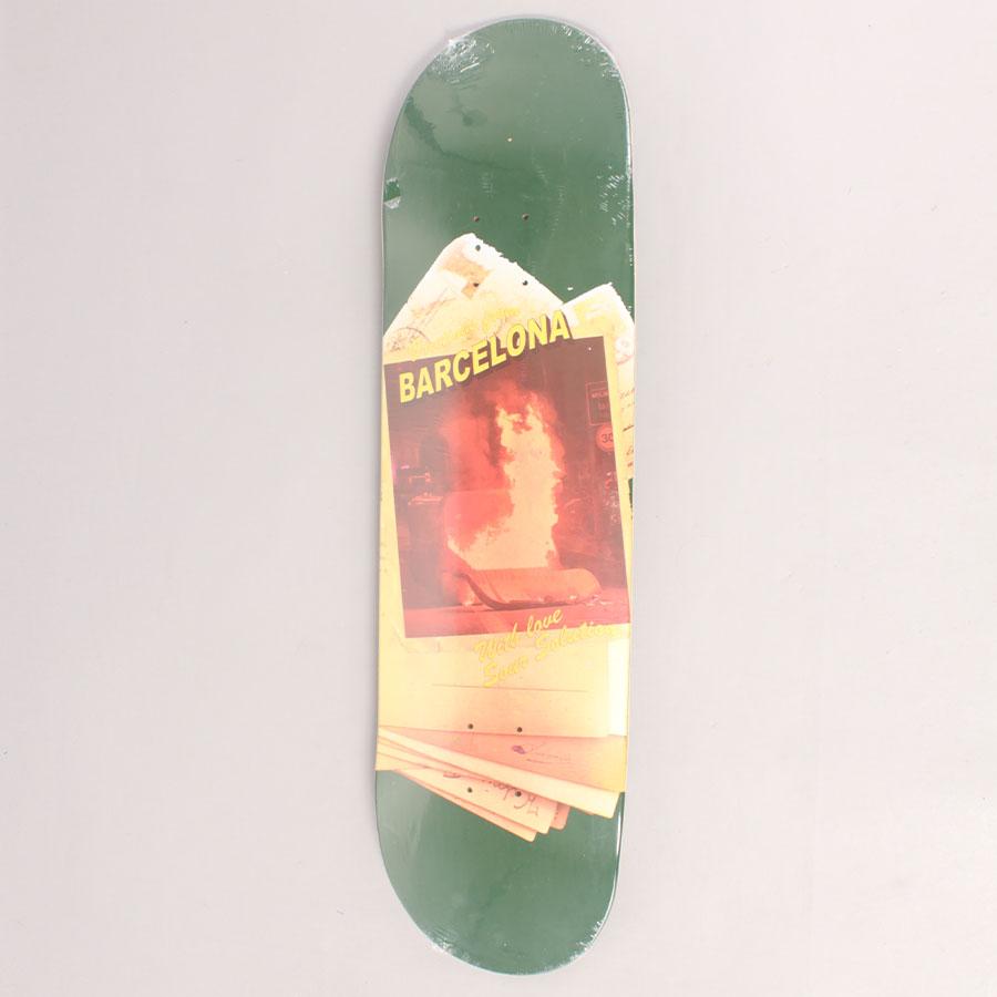Sour Greetings Skateboard Deck - Green