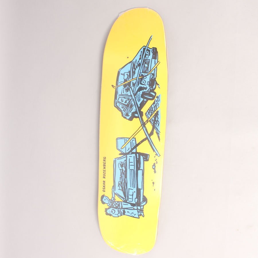 "Polar Oski Drivers License Skateboard Deck - 8,625"" (Shape P9)"