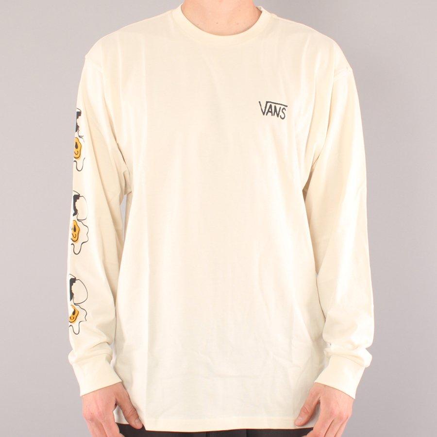Vans Micro dazed Egg LS T-shirt - Seedpearl