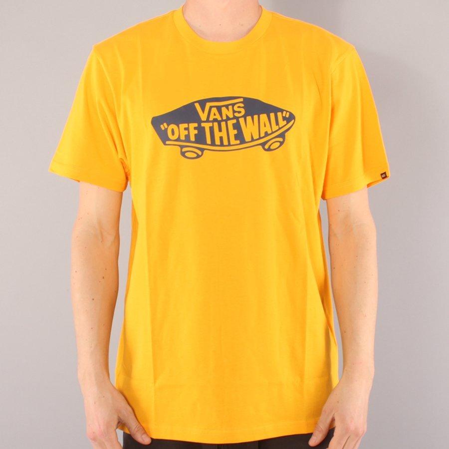 Vans Off The Wall T-shirt - Saffron