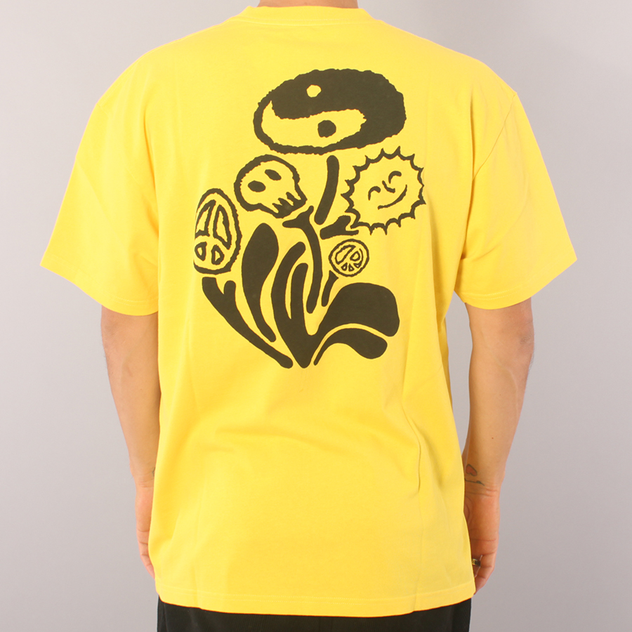 Polar Skate Co Trippin' T-shirt - Lemon