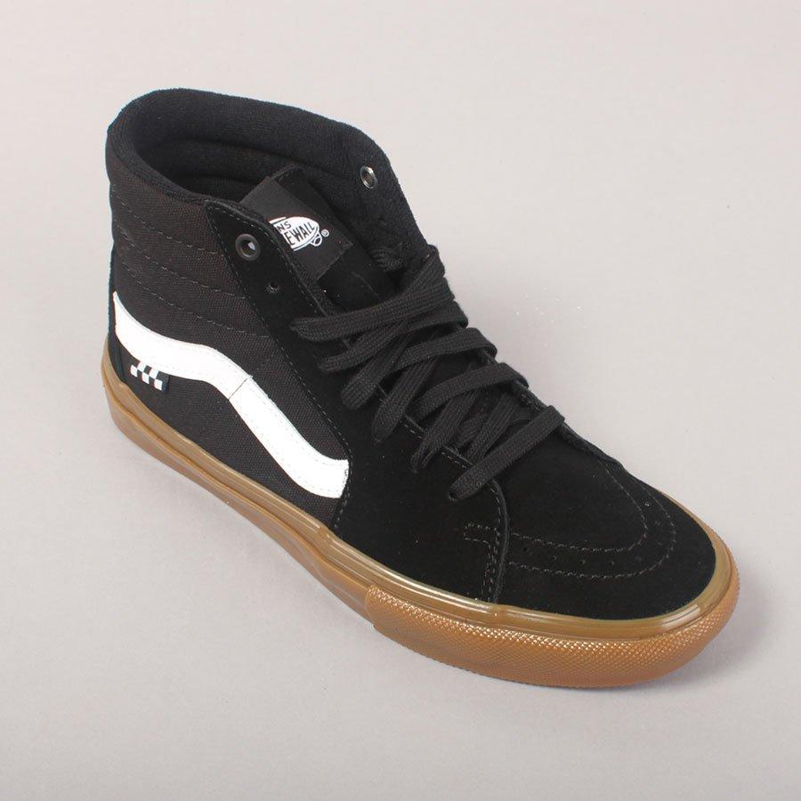 Vans Skate Sk8-Hi - Black/Gum