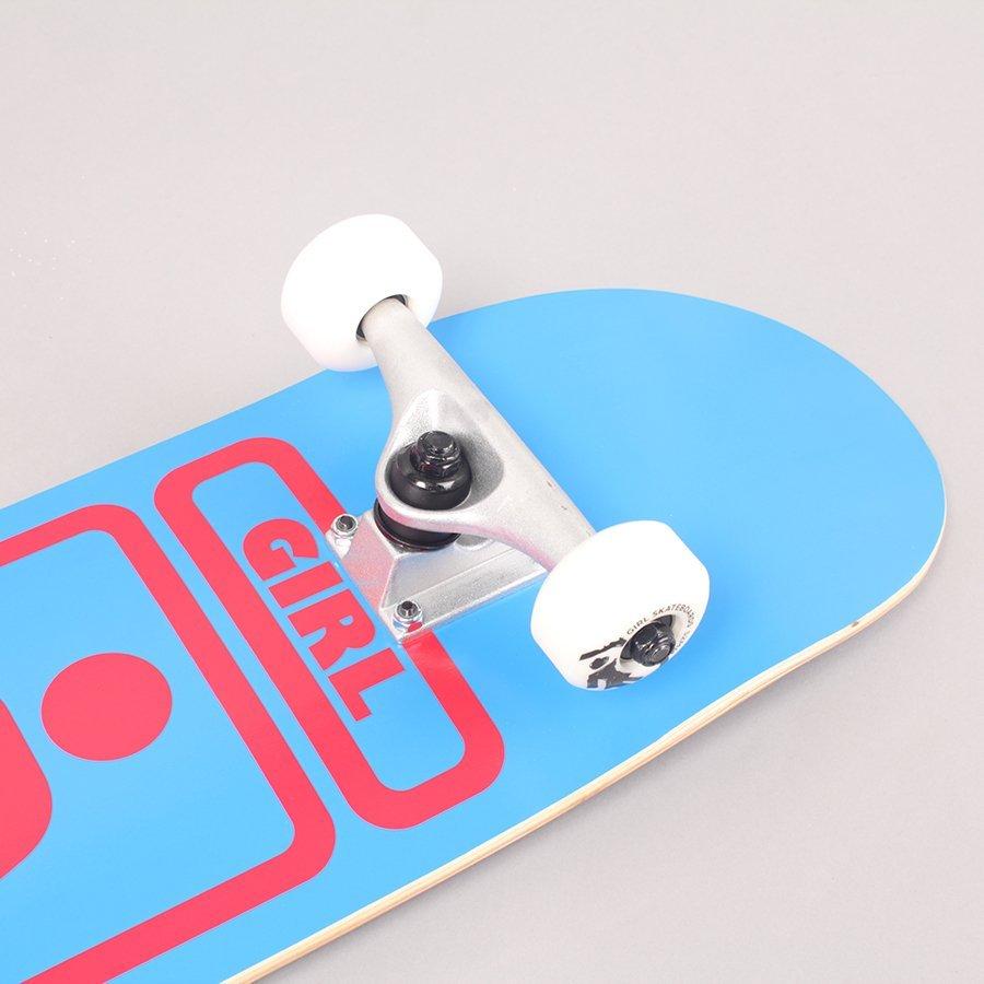 """Girl Sean Malto 93 Til Blue Complete Skateboard - 7,5"""""""