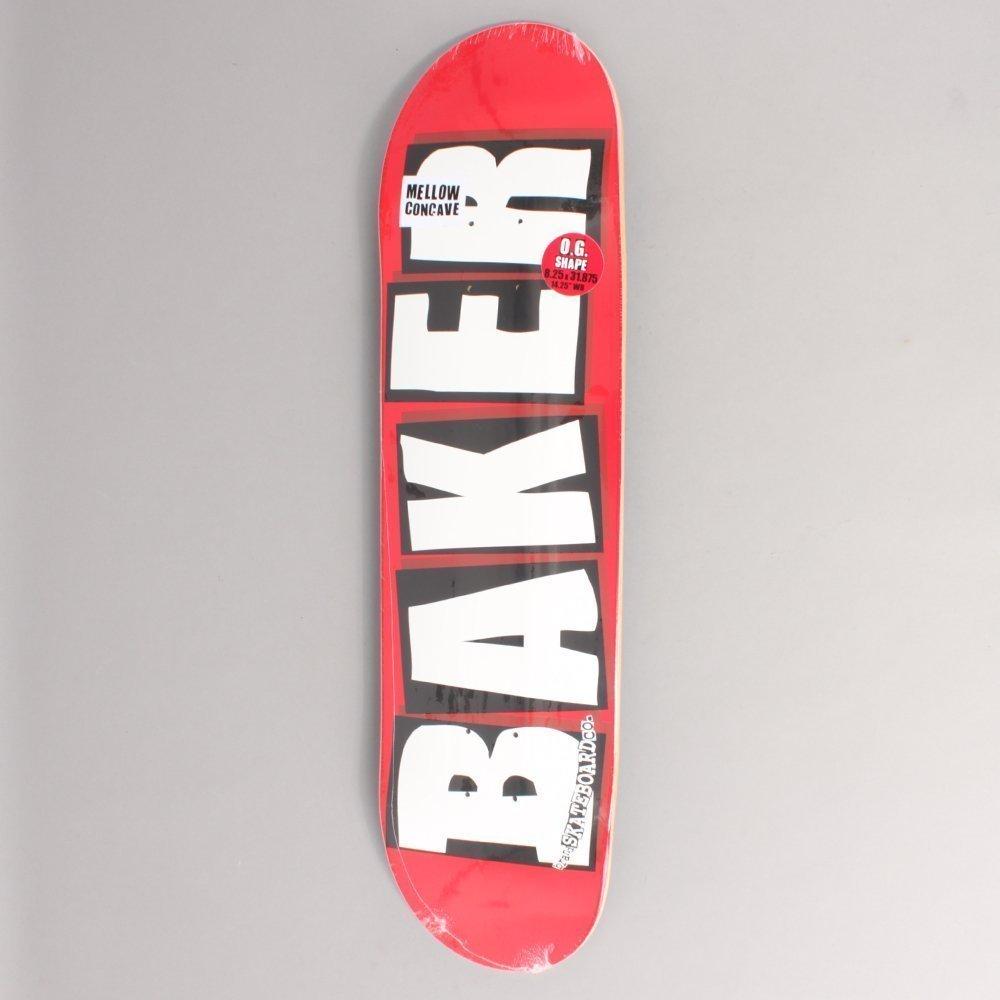 Baker Brand Logo Red/White Skateboard Deck