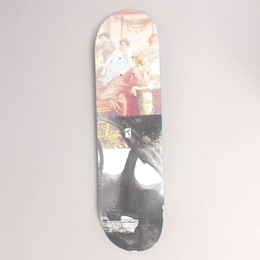 "Poetic Collective Half and Half # 1 Skateboard Deck - 8,00"""