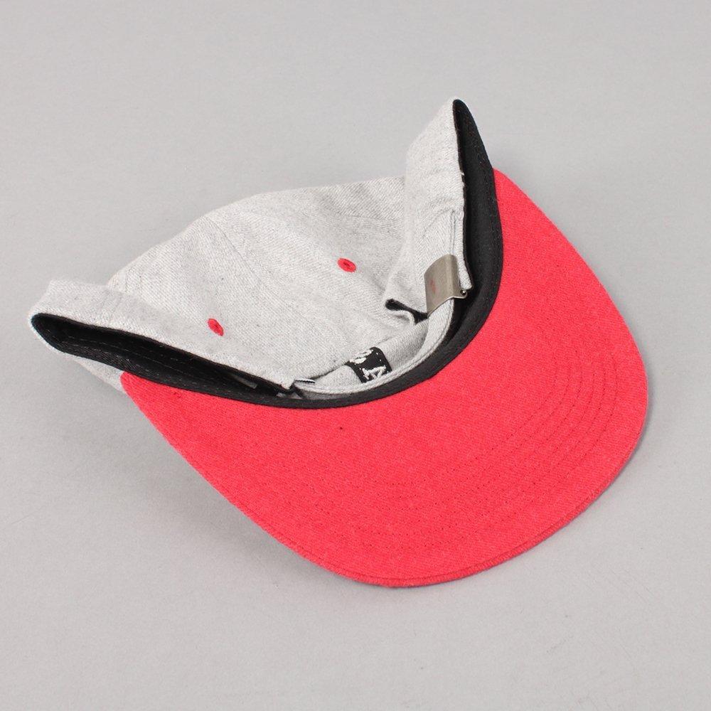 Quasi Trademark 6 Panel Cap - Red
