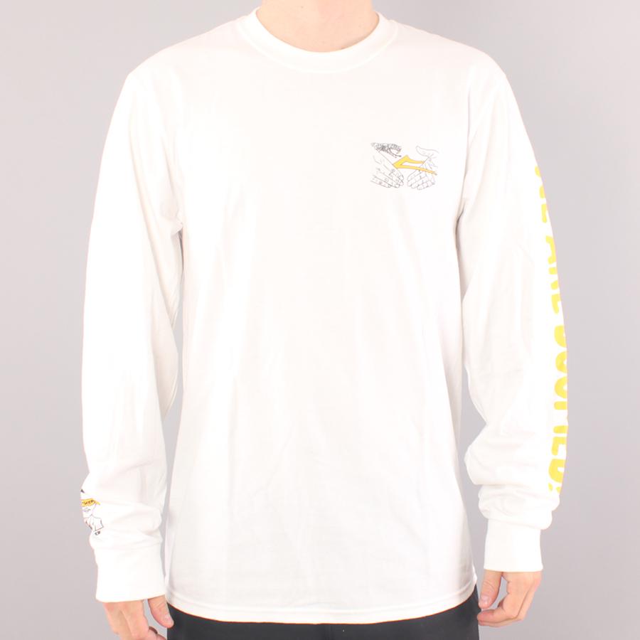 Lakai x Doom Sayers Shake Flare LS T-shirt - White