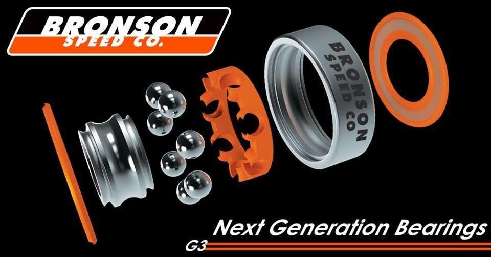 Bronson JAWS Homoki Pro G3 Bearings