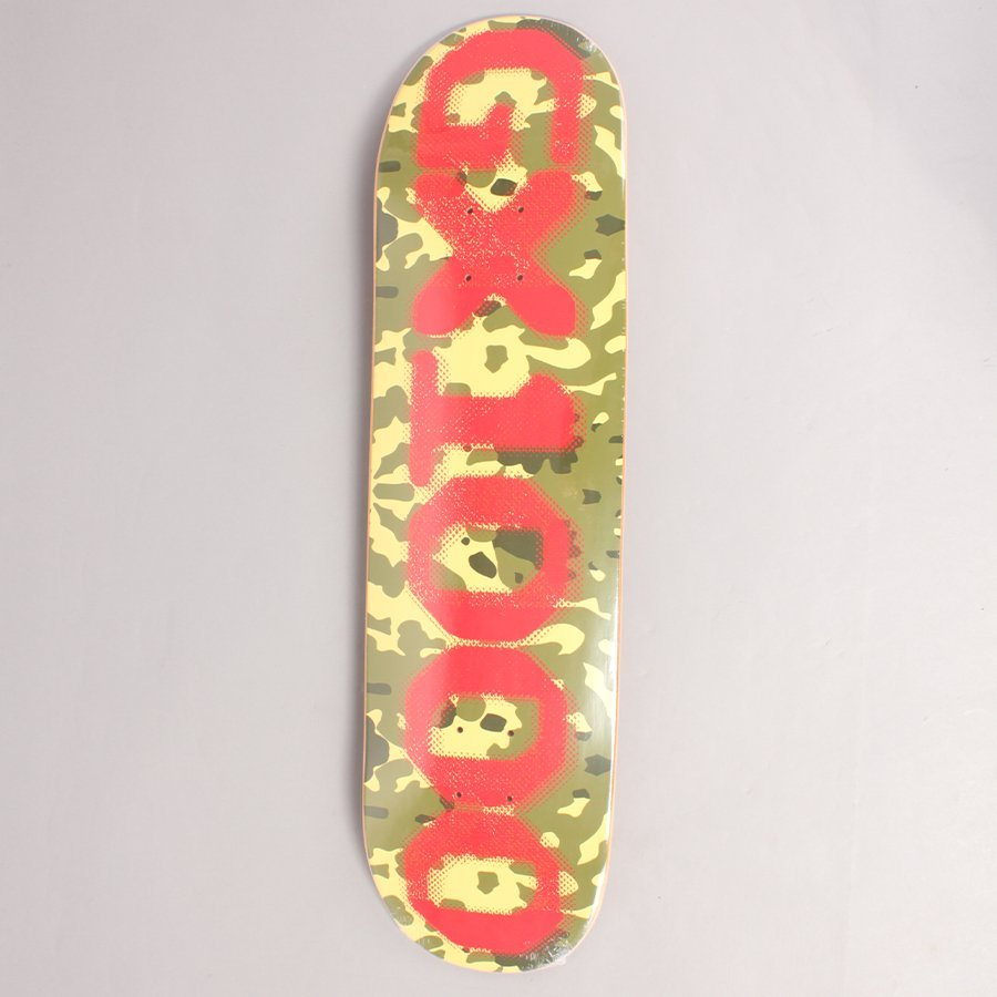 "GX1000 OG Forest Camo Skateboard Deck - 8,625"""
