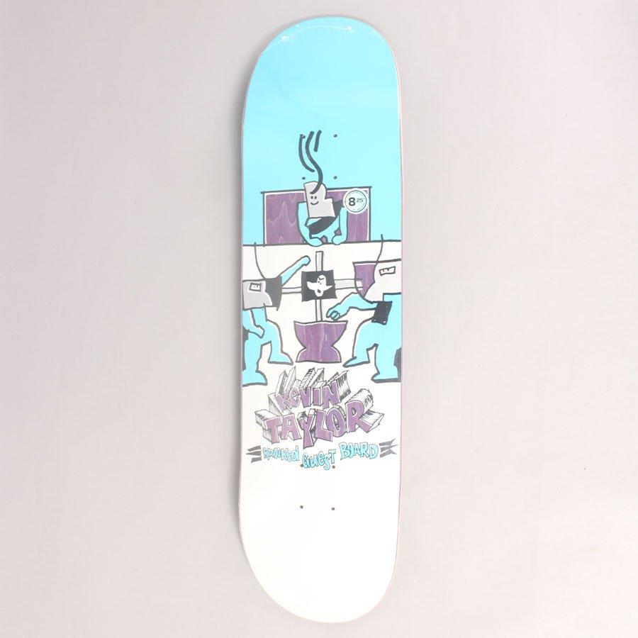 """Krooked Kevin Taylor Guest Skateboard Deck - 8,25"""""""
