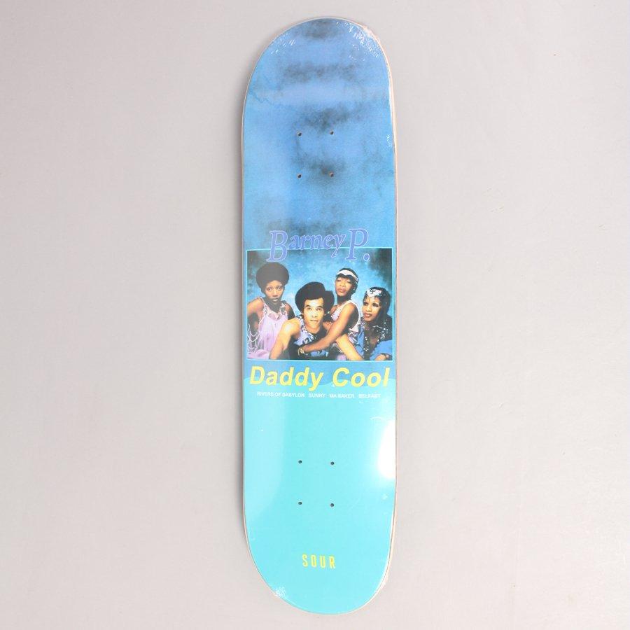"Sour Barney Page Barney P Skateboard Deck - 7,875"""