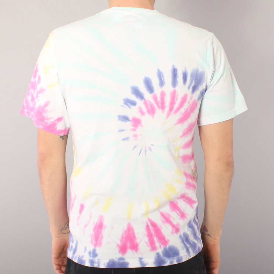 Vans Easy Box Youth T-shirt - Rainbow Tie Dye