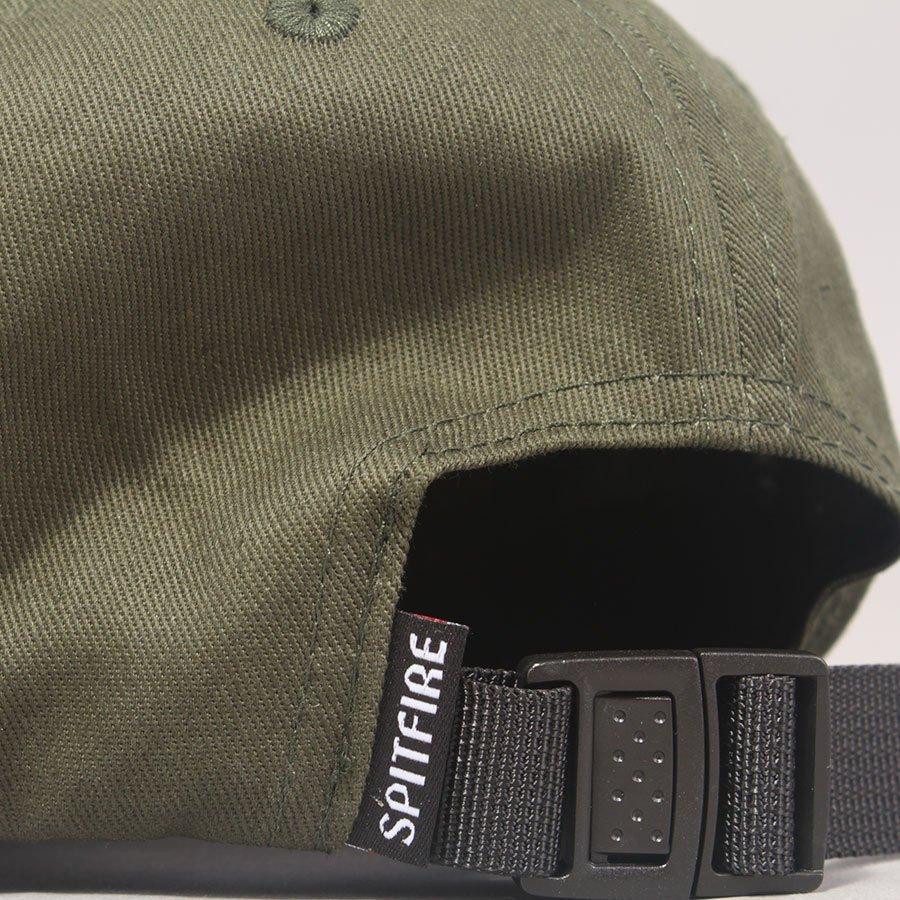 Spitfire Lil Bighead Strapback 6 Panel Cap - Green/Yellow