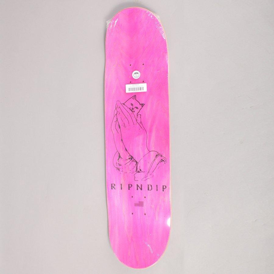 Rip N Dip Lord Nermal Blue/Yellow Skateboard Deck