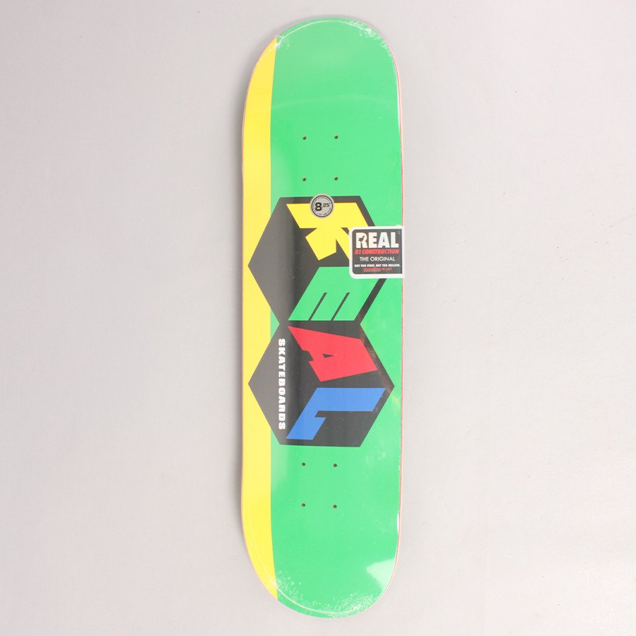 "Real City Blocks Skateboard Deck - 8,25"""
