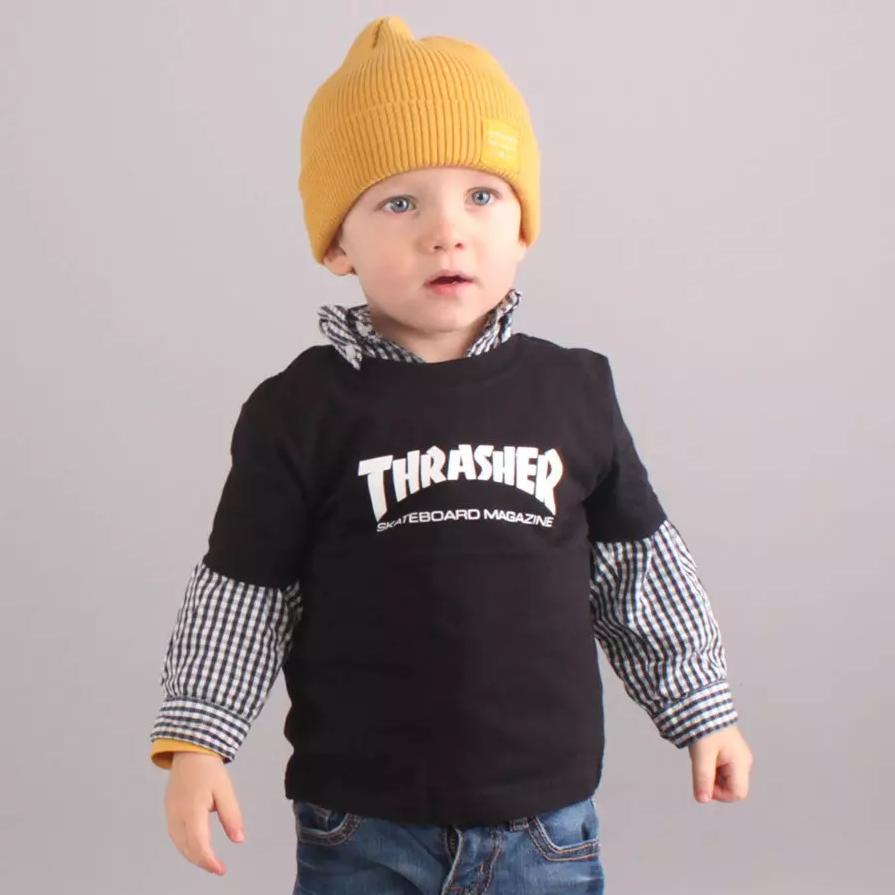 Thrasher Infant Skate Mag T-shirt - Black