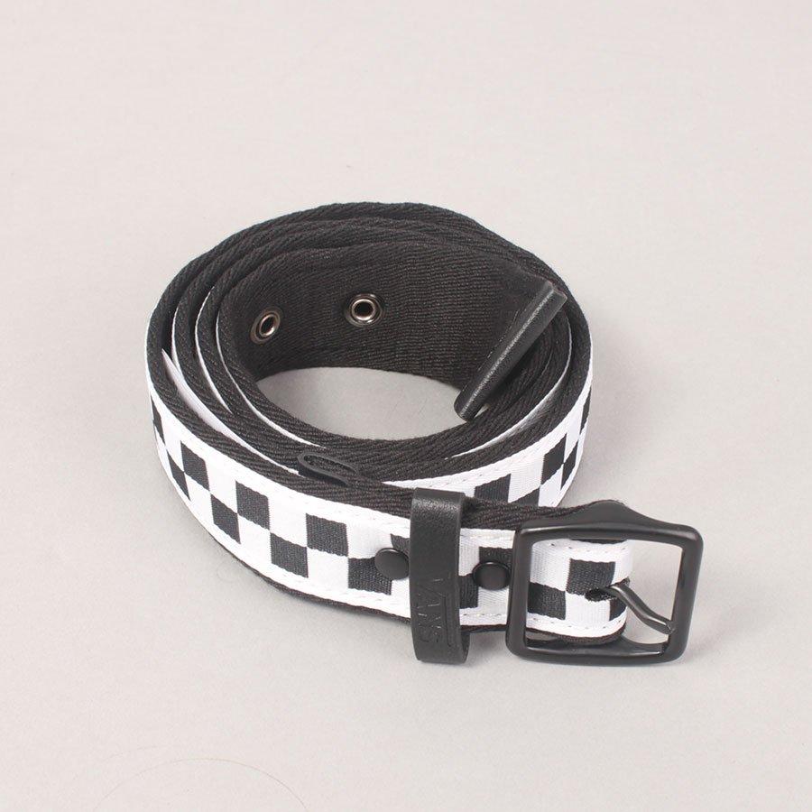 Vans Indio Belt - Black/White/Checker