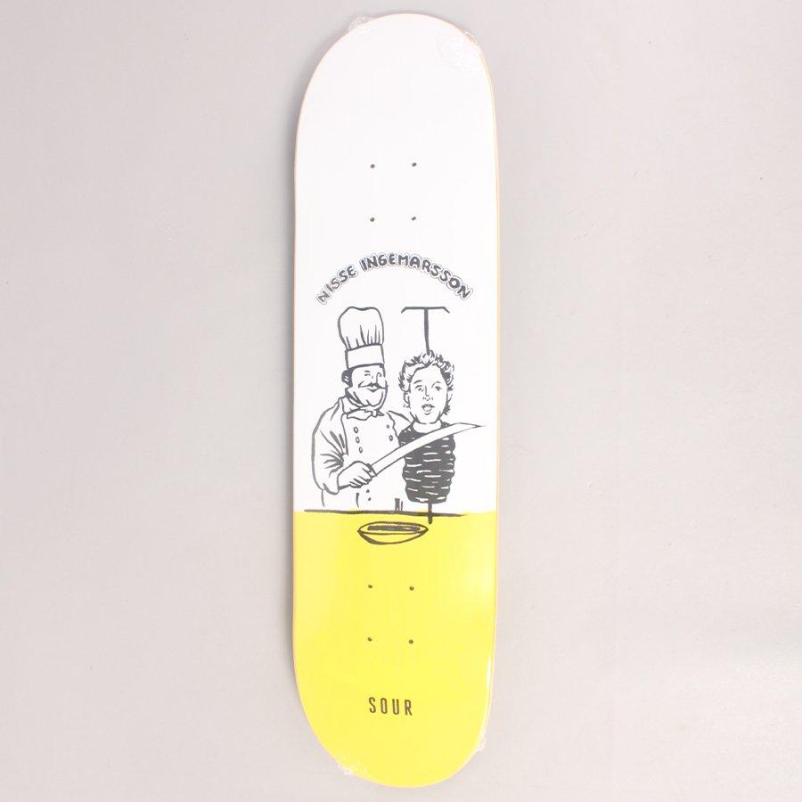"Sour Nisse Ingemarsson Kebab Skateboard Deck - 8,125"""