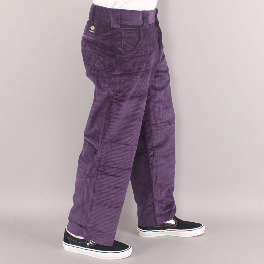 Dickies Franky Villani Double Knee Cord Pants - Purple