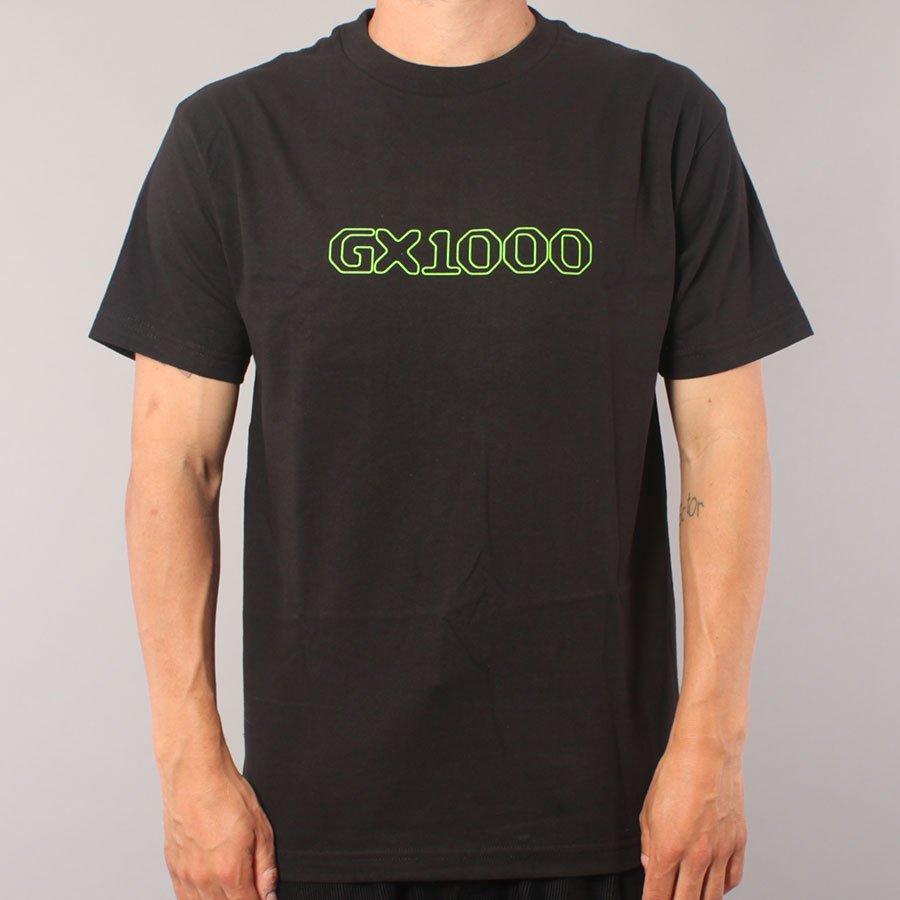 GX1000 OG Logo T-shirt - Black/Green