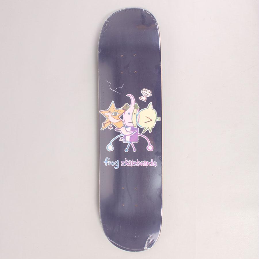 Frog Cracked Robot Boy Skateboard Deck