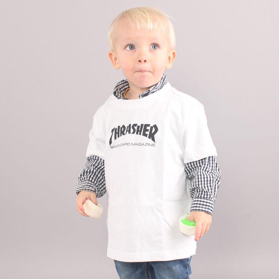 Thrasher Toddler Skate Mag T-shirt - White