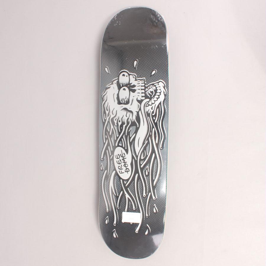 Free Dome Raging Skull Dark Skateboard Deck