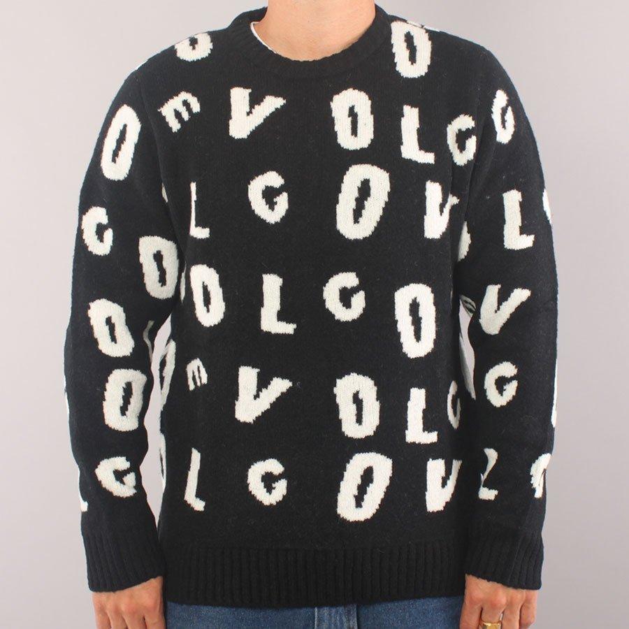 Volcom Anarchietour Sweater - Black/White