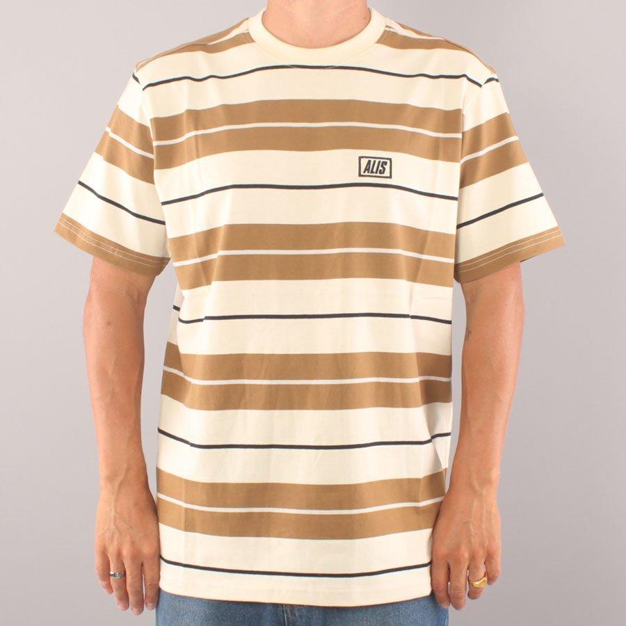 Alis Stencil Stripe T-shirt - Off White