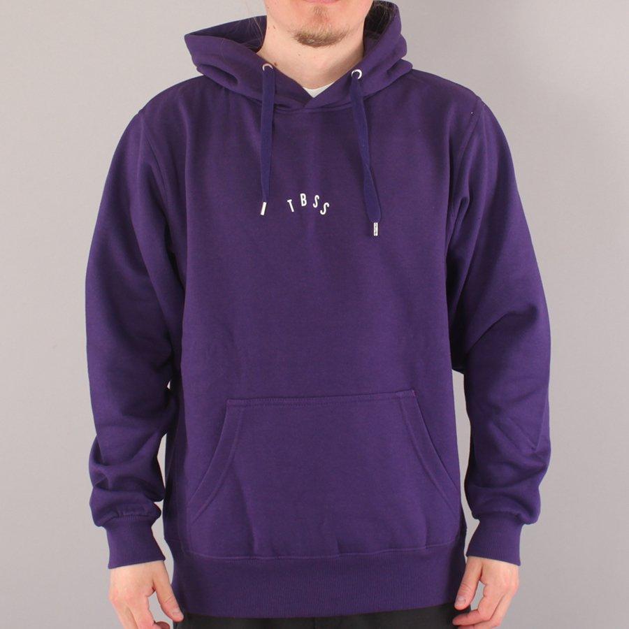 The Boss TBSS Mini Logo Hood - Purple