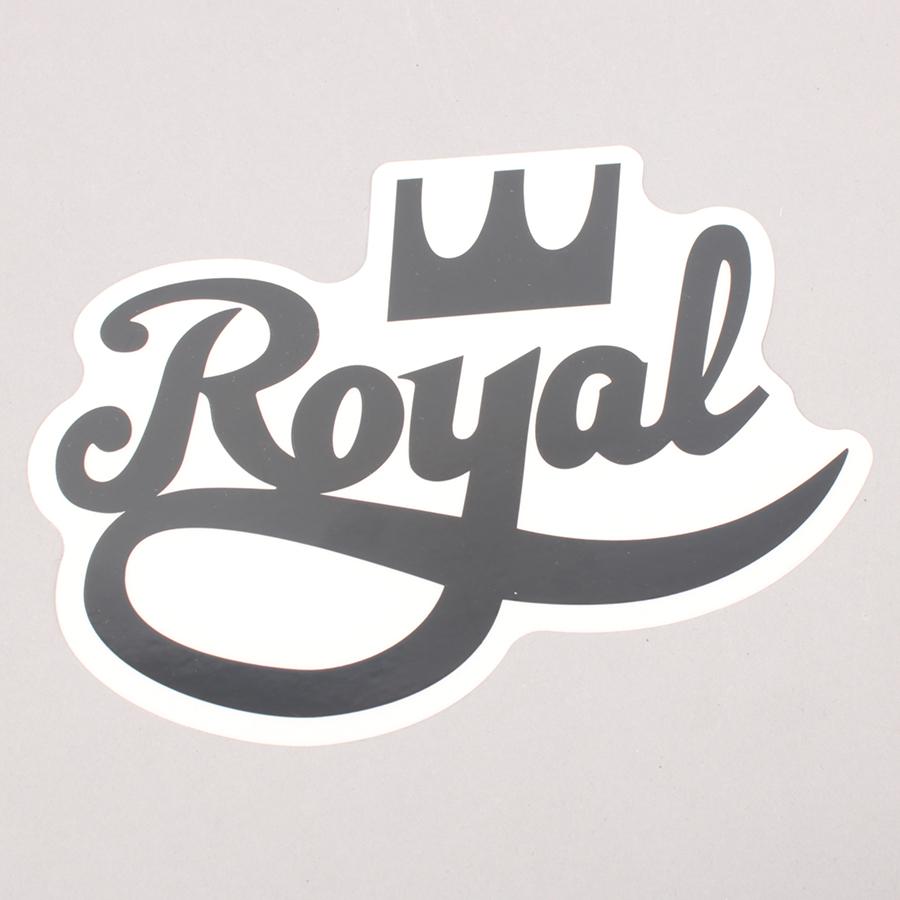 Royal Trucks Logo Sticker - Black