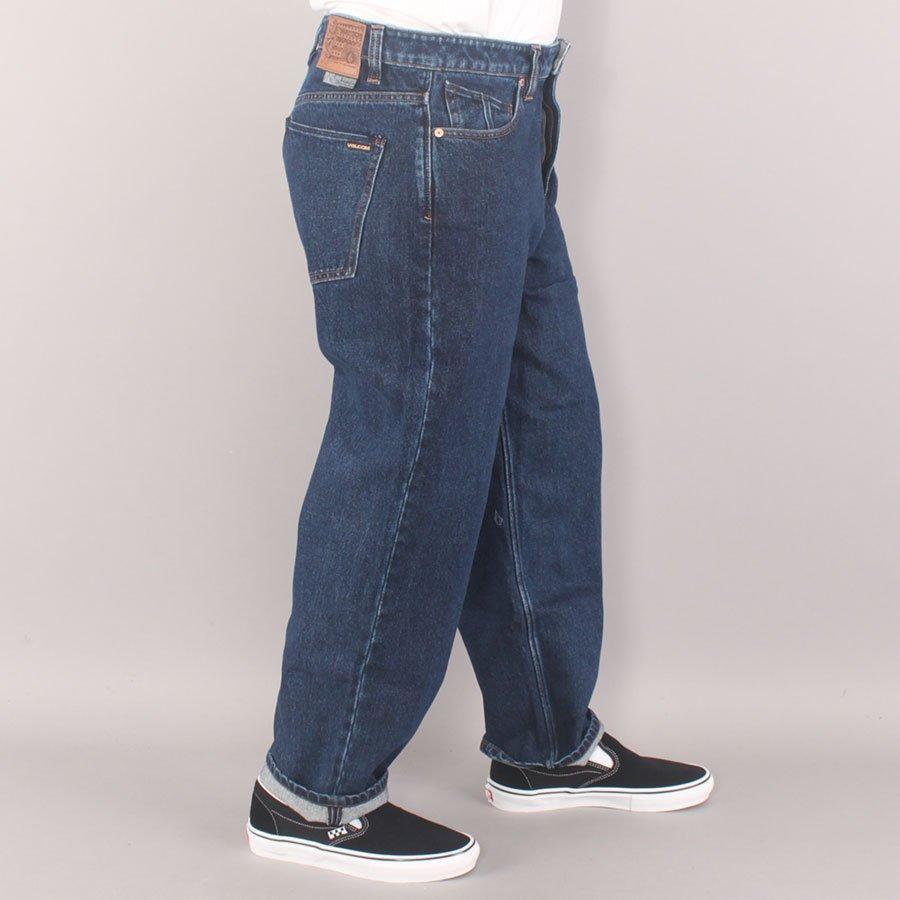"Volcom Louie Lopez Tapered Denim 17"" Pants - Rinsed Blue"