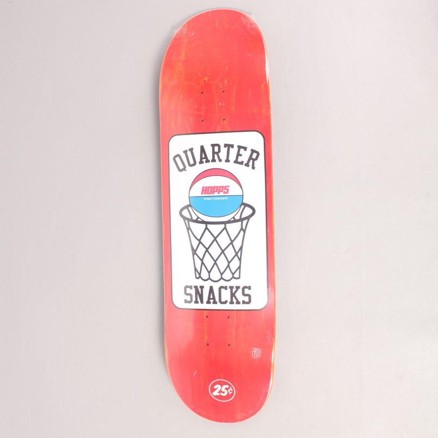 Hopps x Quarter Snacks Street Composite 2 Skateboard Deck