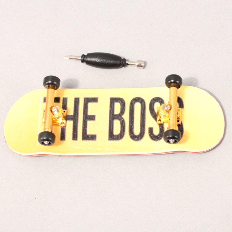 The Boss x Kabbeverb Logo Fingerboard - Gold