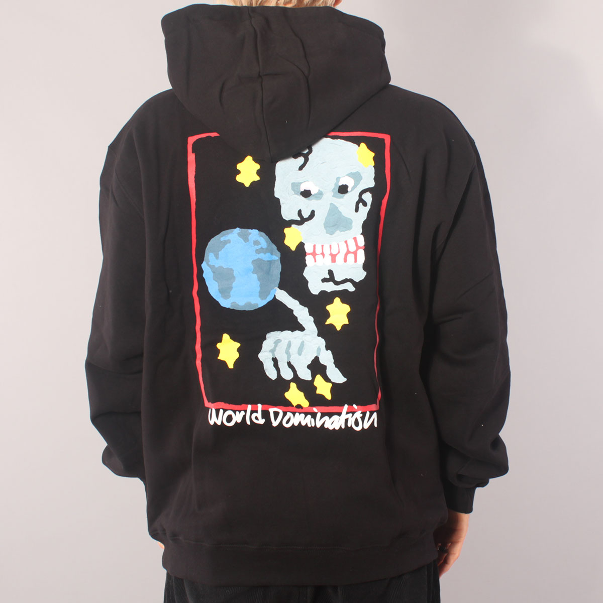 Polar Skate Co World Domination Hoodie - Black