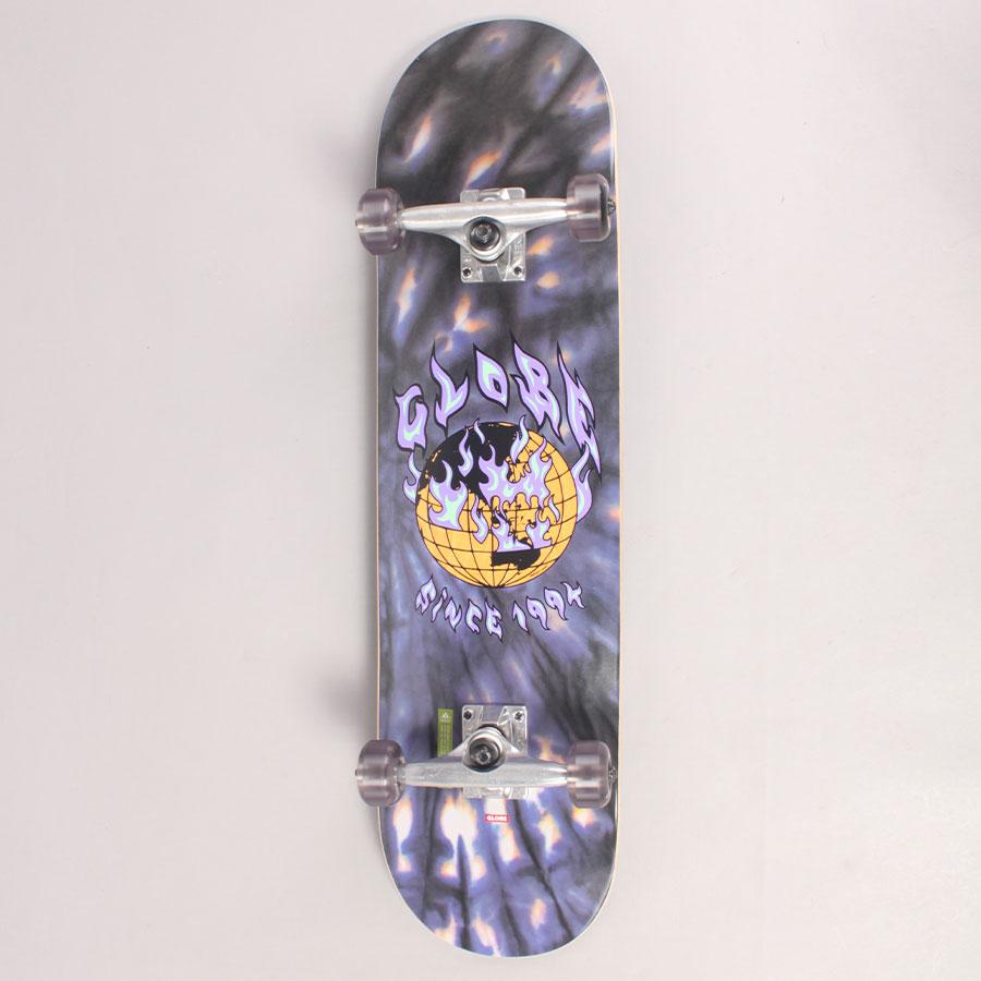 "Globe Ablaze Complete Skateboard - 8,00"""