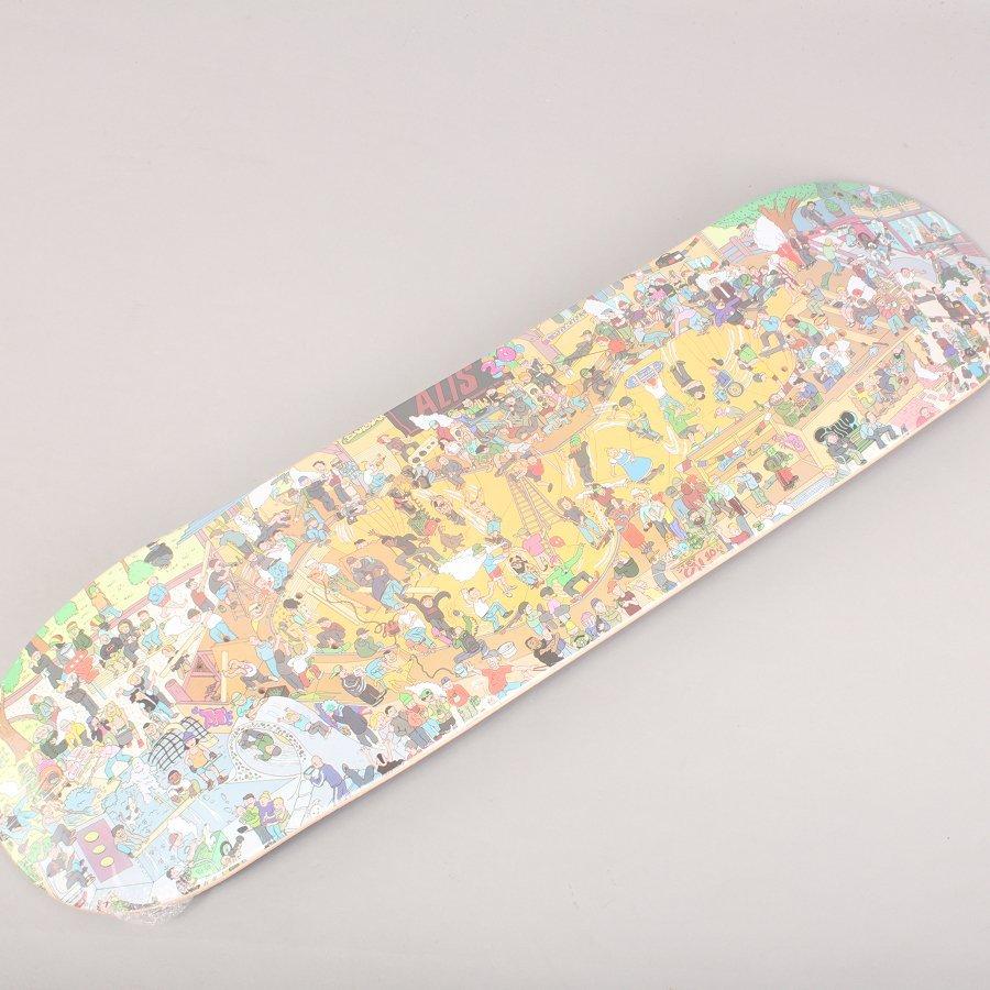 """Alis Wonderland 20 Years Skateboard Deck - 8,25"""""""