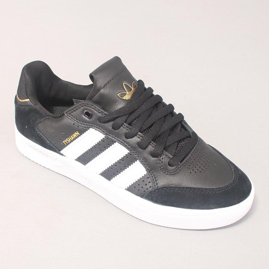 Adidas Skateboarding TYSHAWN Low - Black/White/Gold