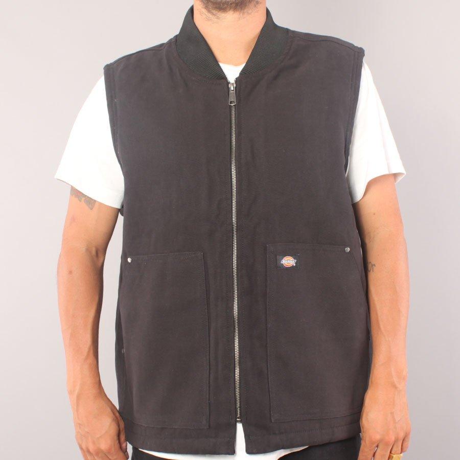 Dickies DC Lined Vest - Black