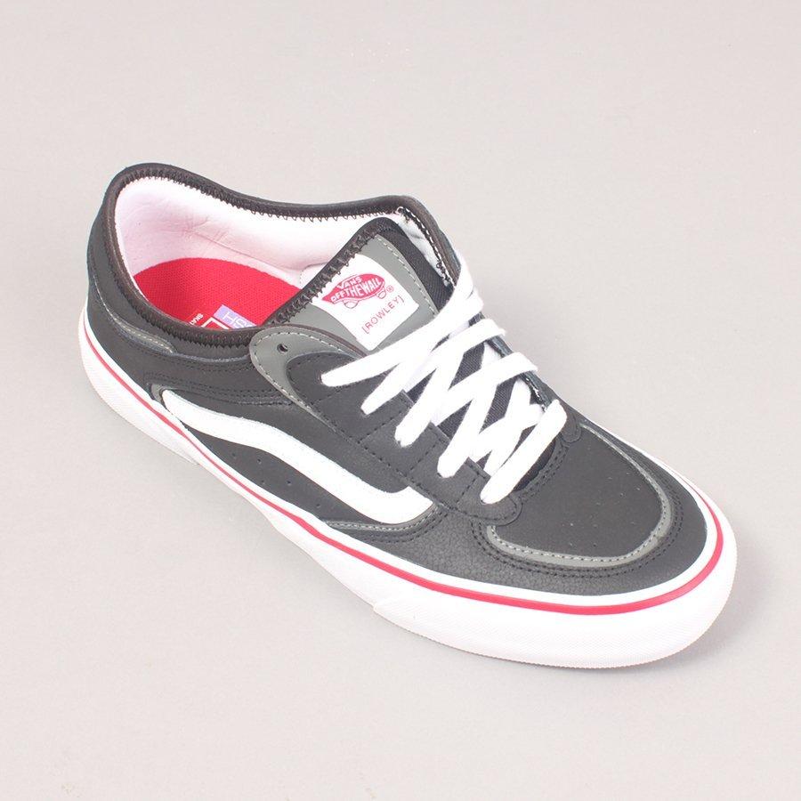 Vans Rowley - Black/White/Red
