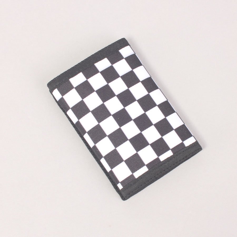Vans Slipped Wallet - Black/White Checkerboard