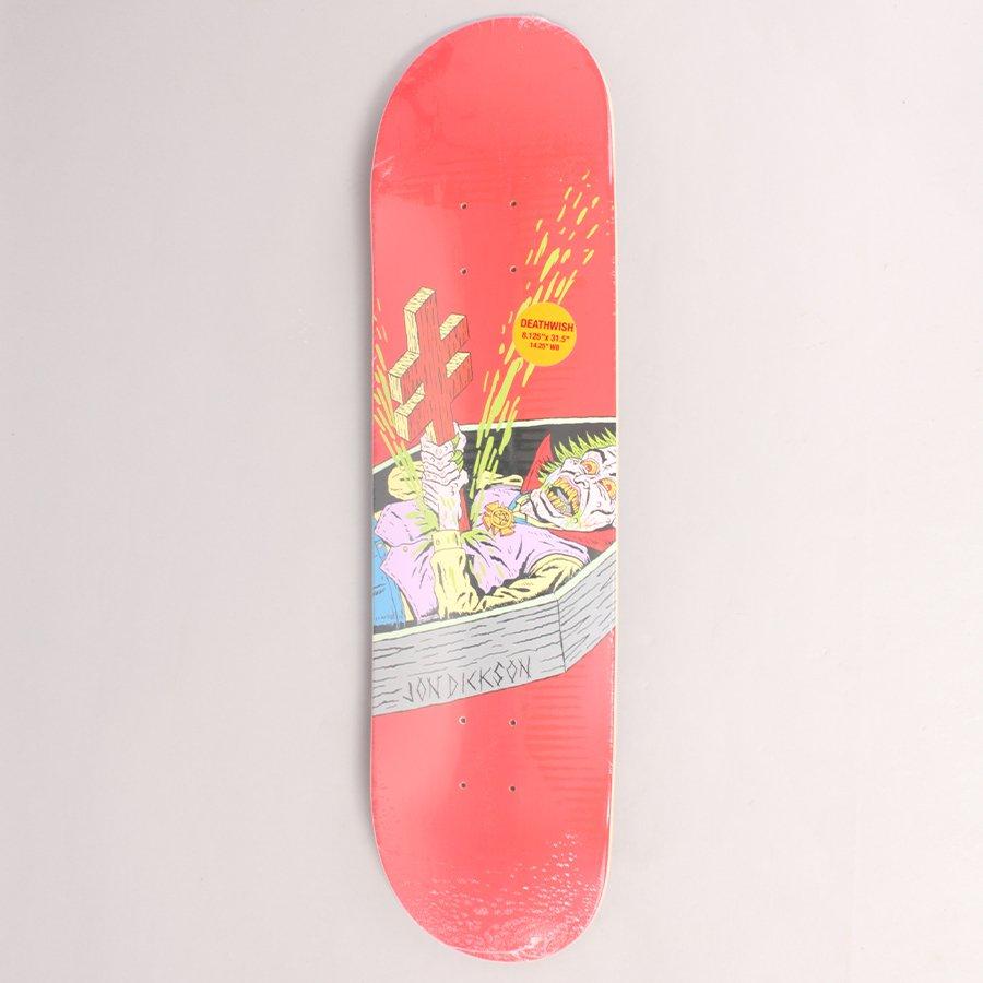 "Deathwish Dickson Blasphemy Skateboard Deck - 8,125"""