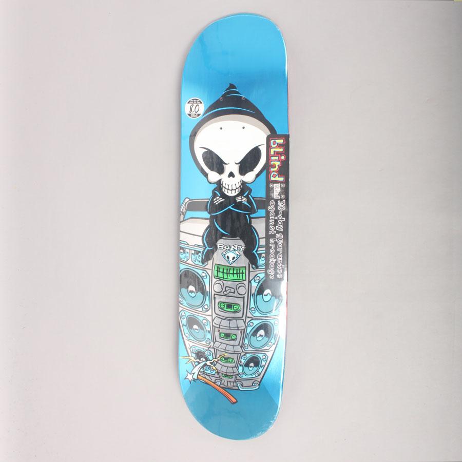 Blind Papa Boom Box Reaper R1 Skateboard Deck