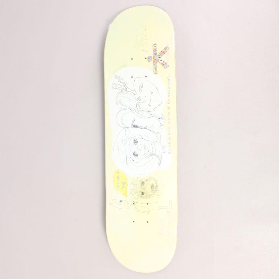 Frog Chris Milic Cursed Skateboard Deck