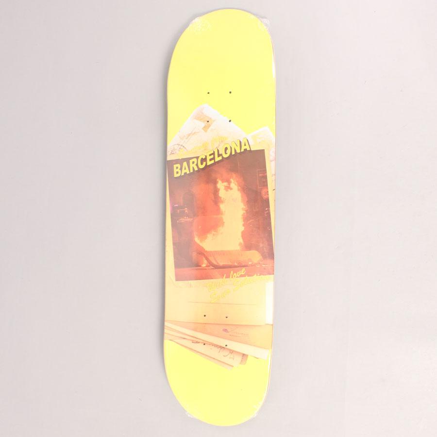 Sour Greetings Skateboard Deck - Yellow